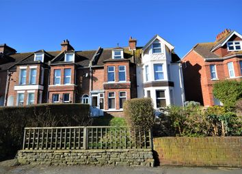 Thumbnail 4 bed terraced house for sale in Ashley Avenue, Cheriton, Folkestone