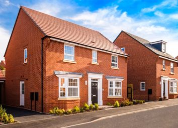 "Thumbnail 4 bed detached house for sale in ""Bradgate"" at Rush Lane, Market Drayton"
