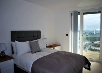 Thumbnail 2 bed flat to rent in Gateway Tower, 28 Western Gateway, Royal Victoria