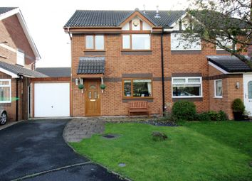 Thumbnail 3 bed semi-detached house for sale in Rowntree Avenue, Fleetwood