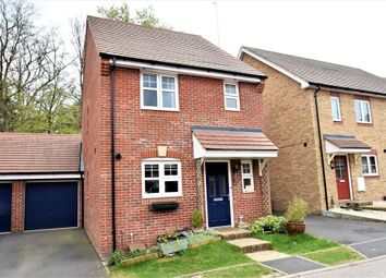 Thumbnail 3 bed detached house for sale in Gomer Road, Bagshot, Surrey