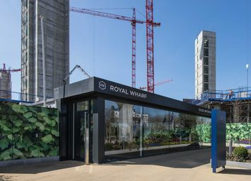 Thumbnail 1 bed flat for sale in Endeavour House, Royal Wharf, Royal Docks, London