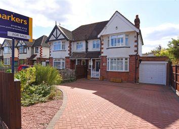 Thumbnail 3 bed semi-detached house for sale in St. Michaels Road, Tilehurst, Reading, Berkshire