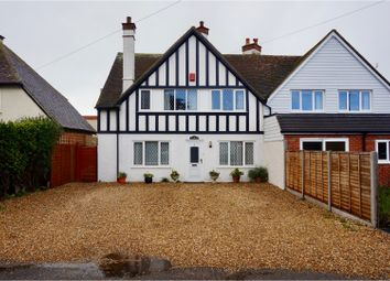 Thumbnail 4 bed semi-detached house for sale in Seal Road, Selsey