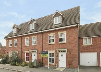 Thumbnail 3 bed town house for sale in Mandeville Close, Hucknall, Nottinghamshire