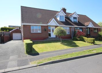 Thumbnail 4 bed semi-detached house for sale in Hollybrook Crescent, Newtownabbey