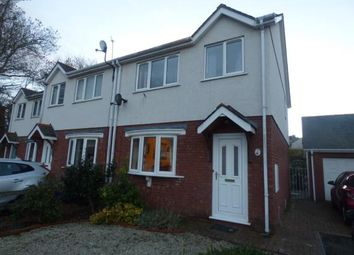 Thumbnail 3 bed semi-detached house for sale in Rhos Adda, Bangor, Gwynedd