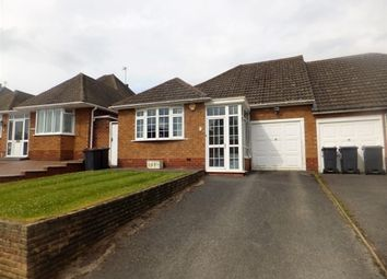 Thumbnail 2 bed semi-detached bungalow for sale in Brentnall Drive, Four Oaks, Sutton Coldfield