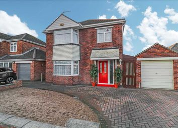 Thumbnail 3 bed detached house for sale in Beverley Grove, North Hykeham, Lincoln