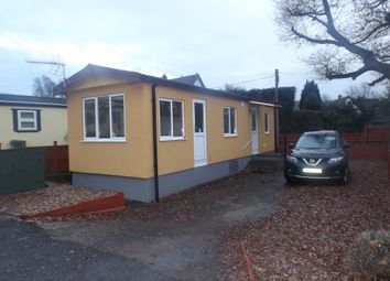 Thumbnail 1 bed mobile/park home for sale in Marlborough Drive, Ringswell Park, Exeter