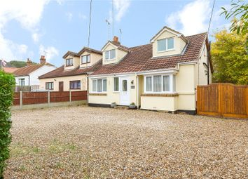 Thumbnail 3 bed semi-detached house for sale in Church Road, Laindon, Essex