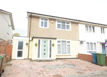 Thumbnail 3 bed semi-detached house for sale in Tillotson Road, Harrow Weald