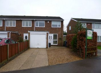 Thumbnail 3 bedroom end terrace house for sale in Eynesbury, St Neots, Cambridgeshire