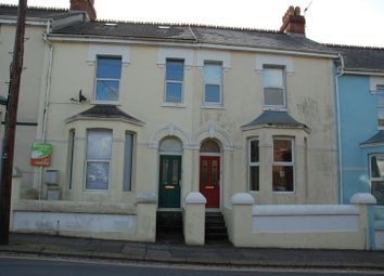 Thumbnail 3 bed town house to rent in Cattedown Road, Plymouth