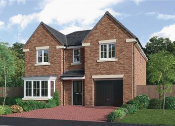 "Thumbnail 4 bedroom detached house for sale in ""The Sherwood"" at Choppington Road, Bedlington"