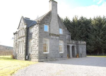 Thumbnail 4 bed detached house to rent in Clunydean, By Cluny Castle, Sauchen, Aberdeenshire