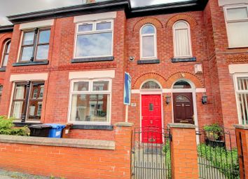 Thumbnail 2 bedroom terraced house for sale in Wellington Grove, Stockport