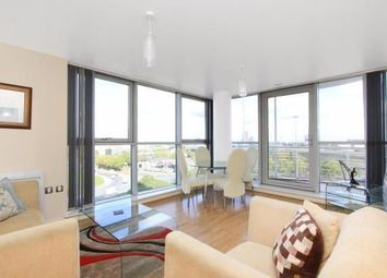 Thumbnail 2 bed flat to rent in Switch House, Blackwall Way, Canary Wharf