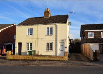 Thumbnail 2 bed semi-detached house for sale in City Road, Tilehurst, Reading