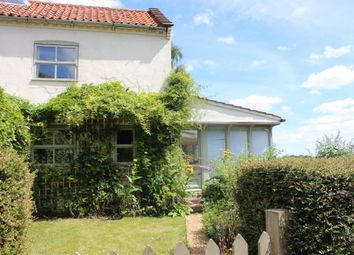 Thumbnail 3 bed cottage for sale in Tanners Green, Garvestone, Norwich