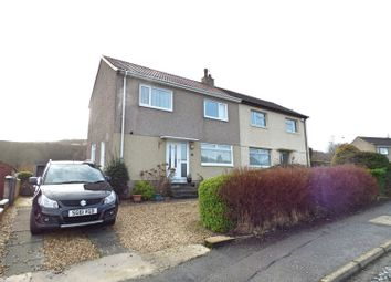 Thumbnail 3 bed semi-detached house for sale in Moorfoot Drive, Gourock