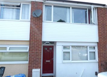 Thumbnail 3 bed terraced house for sale in Frobisher Road, Rugby