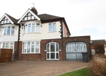 Thumbnail 4 bed semi-detached house for sale in Eye Road, Peterborough