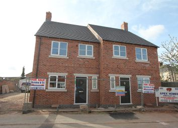 Thumbnail 3 bed semi-detached house for sale in The Cloisters, Wood Street, Earl Shilton, Leicester