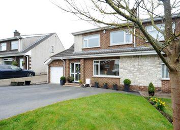 Thumbnail 3 bed semi-detached house for sale in Oakdale, Ballygowan, Newtownards