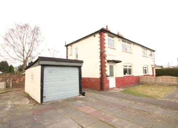 Thumbnail 3 bed semi-detached house for sale in Mottram Avenue, Chorlton, Manchester