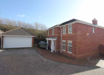 Thumbnail 4 bed detached house for sale in Maes Y Gwenyn, Rhoose, Barry