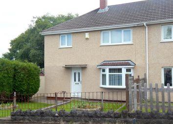Thumbnail 3 bedroom semi-detached house for sale in Tynywaun Road, Llansamlet, Swansea