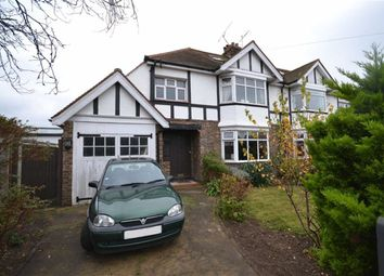 Thumbnail 3 bed semi-detached house for sale in Livesay Crescent, Broadwater, West Sussex