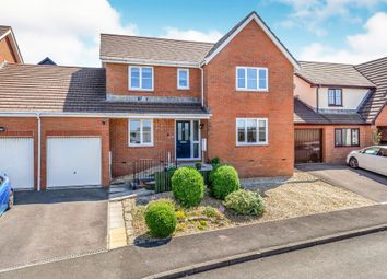 Thumbnail 4 bed link-detached house for sale in Clos Castell Newydd, Bridgend
