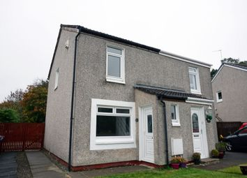 Thumbnail 2 bed semi-detached house for sale in Medwin Court, Gardenhall, East Kilbride