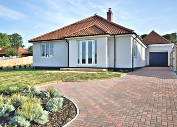 Thumbnail 3 bed detached bungalow for sale in Harrold Close, Heacham, King's Lynn