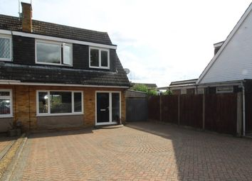 Thumbnail 3 bed semi-detached house for sale in Willoughby Way, Hitchin