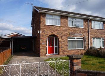 Thumbnail 3 bed semi-detached house for sale in Tallarn Green, Malpas
