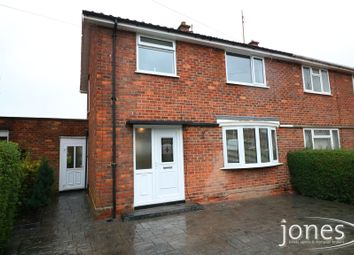 Thumbnail 3 bed semi-detached house for sale in Feetham Avenue, Darlington