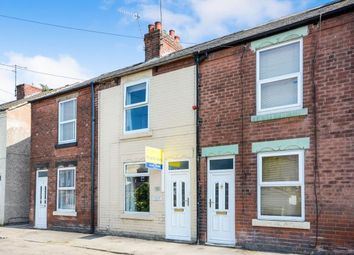 Thumbnail 2 bedroom terraced house for sale in Hipper Street West, Chesterfield, Derbyshire
