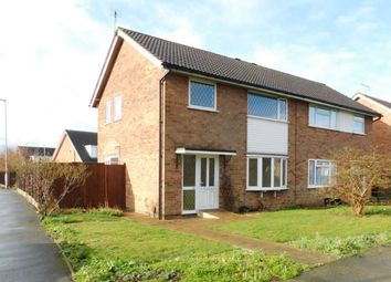 Thumbnail 3 bedroom semi-detached house to rent in Laxton Close, Wigston