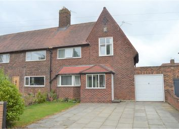 Thumbnail 3 bed end terrace house for sale in Eastern Avenue, Bromborough