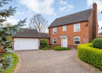 Thumbnail 4 bed detached house for sale in St. Lawrence Way, Stamford