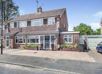 Thumbnail 3 bed semi-detached house for sale in Cherry Close, Burgess Hill
