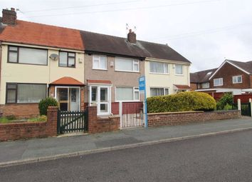 Thumbnail 3 bed terraced house for sale in Silverdale Road, Warrington, Cheshire