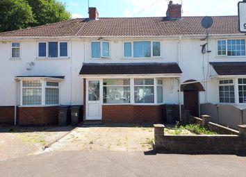 Thumbnail 3 bed terraced house to rent in Sladepool Farm Road, Maypole, Birmingham