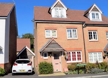 Thumbnail 4 bed semi-detached house for sale in The Furrows, Crawley Down, West Sussex