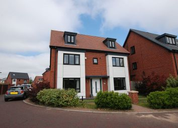 Thumbnail 5 bedroom detached house for sale in Abberwick Walk, Newcastle Upon Tyne
