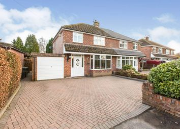 Hodge Lane, Hartford, Northwich, Cheshire CW8. 3 bed semi-detached house for sale