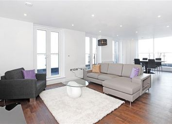 Thumbnail 3 bed flat to rent in Drew House, 21 Wharf Street, London